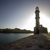 Chania lighthouse.<br /> <br /> Crete, Greece