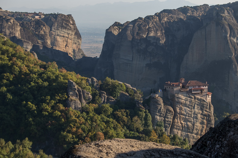 Exploring the monasteries of Meteora in Northern Greece.