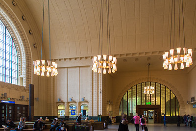 Inside the Helsinki Railway Station