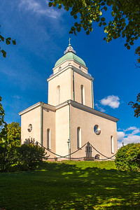 Suomenlinna Church also doubles as a lighthouse. One of only a few in the world.
