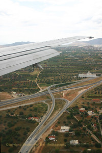 Landing in Athens Airport (Venizelos).