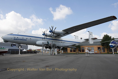 This giant - an Antonov An-22 - is preserved at the Technik Museum Speyer. The An-22 (UR-644460) has a wing span of more than 64 meters, it is 57,3 meters long and is 12,5 meters tall.