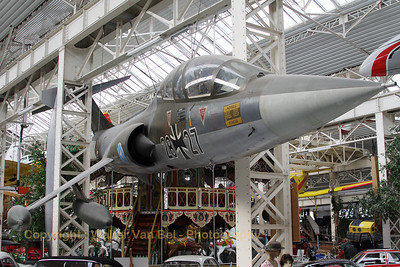 This TF-104G Starfighter (28+27) - in the c/s of the Test and Trial Department at Manching - is preserved at the Technik Museum Speyer.