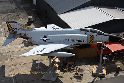 This F-4C Phantom II (63-7446), in the c/s of the Michigan ANG, can be seen on display at the Speyer Technik Museum (Germany).