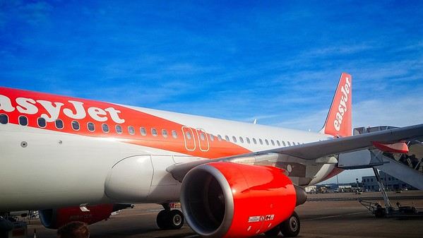 Easy Jet, Gatwick to Schiphol