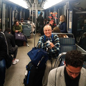 First Redpointe Maple in France & on the Paris Metro!