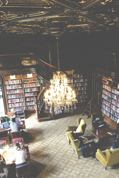 Metropolitan Ervin Szabó Library. May 2016