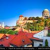 Hungary - Magyarország - Esztergom - Exterior of the Neo Classi