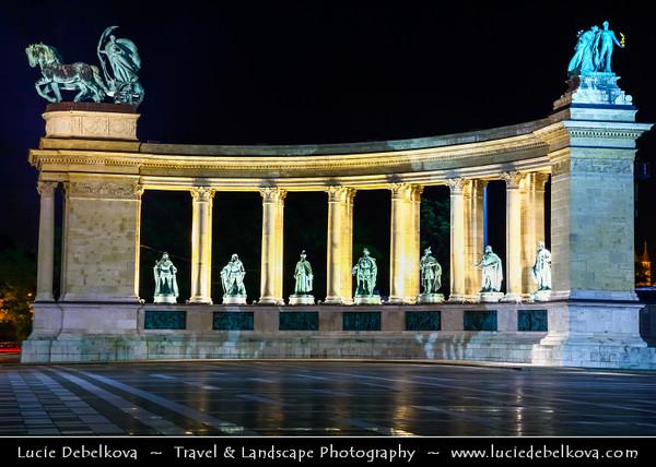Hungary - Magyarország - Budapest - Capital City - Heroes Squar