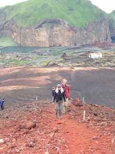 and walks up volcanoes were all great fun!