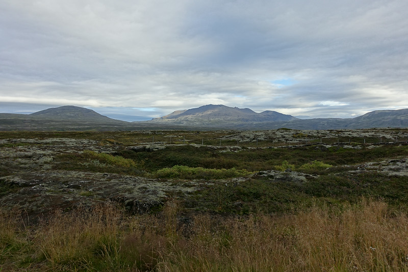 On the road to Þingvellir