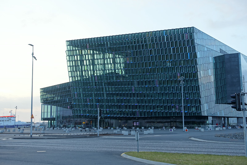 Harpa Concert Hall, Reykjavik.