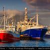 Europe - Iceland - South Eastern Iceland - Höfn - Höfn í Hornafirði - Icelandic fishing town & harbor - Captured Late Evening