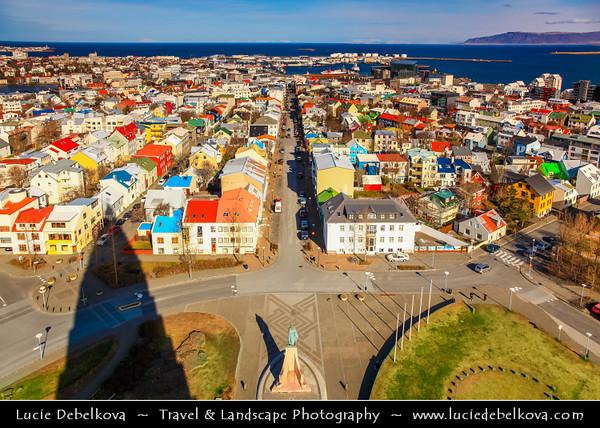 Iceland - Reykjavík - City View from Hallgrimskirkja church's 7