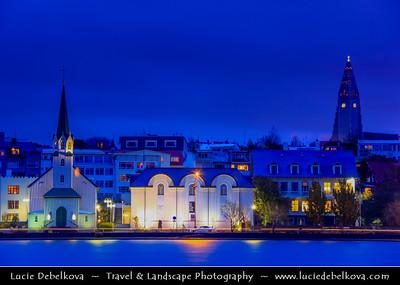 Europe - Iceland - Reykjavik - The Capital City - The tin clad F