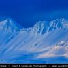 Europe - Iceland - West Iceland -  Snæfellsnes - Grundarfjörður area surrounded by stunning snowy mountains at first morning light
