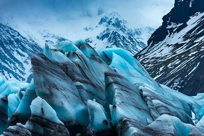 Glacier near White Walker Ice Cave