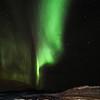Aurora over a Glacier