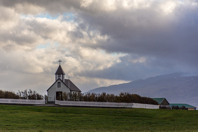 Little churches throughout Iceland