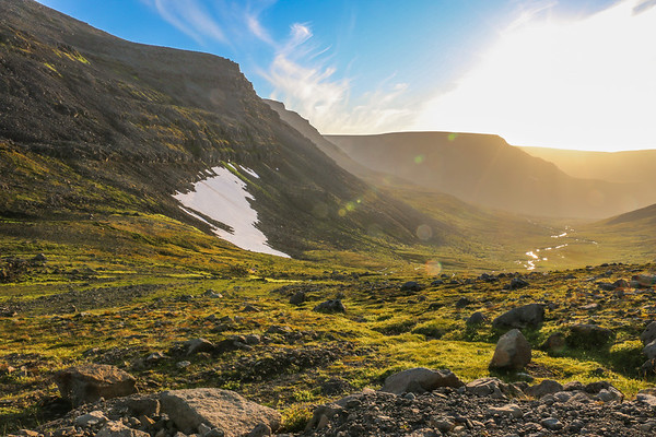 The remoteness of the Westfjords