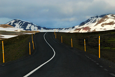 Route 93 from Egillsstadir to Seydisfjordur, East Iceland.
