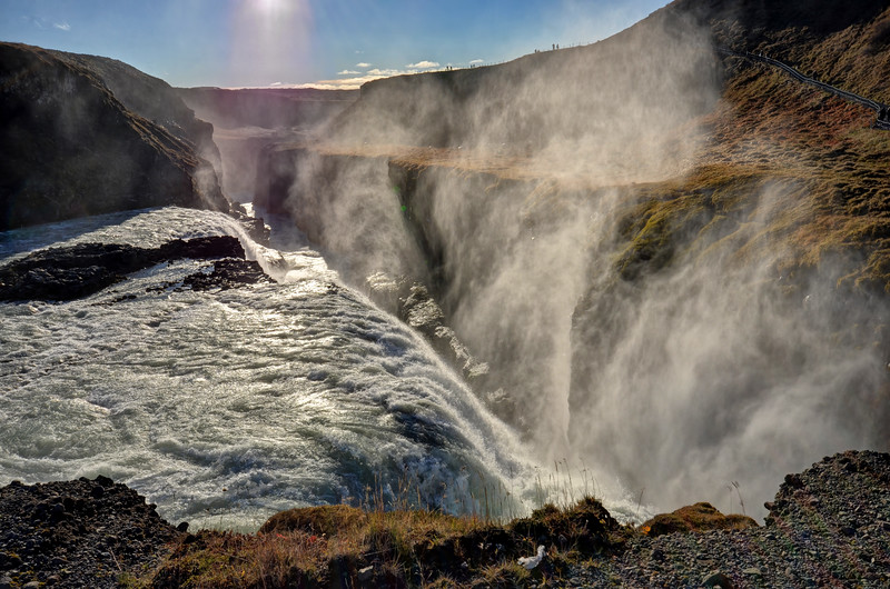 The Chasm at Gullfoss