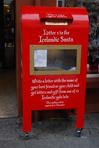 Letters to Icelandic Santa, Reykjavik