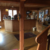 reception desk at the Hotel-Gasthof Hirschen