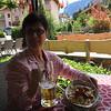 lunch at the Gasthof Hirschen
