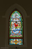 Water-themed Stained Glass,  St. Mary's of the Visitation<br /> Killybegs, County Donegal, Ireland, 2013