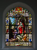 Stained Glass, Parish Church<br /> Gleann Cholm Cille, County Donegal, Ireland, 2013
