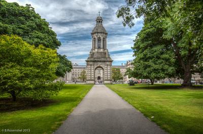 Campanile, Parliament Square, Trinity College Dublin, County Dublin, Ireland, 2013