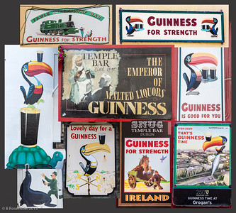 "Guinness! If he can say as you can ""Guinness is good for you"" How grand to be a Toucan Just think what Toucan do."