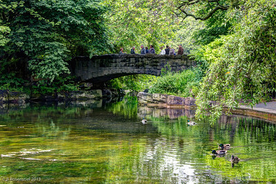 Stone Bridge, St. Stephen's Green Dublin, County Dublin, Ireland, 2013