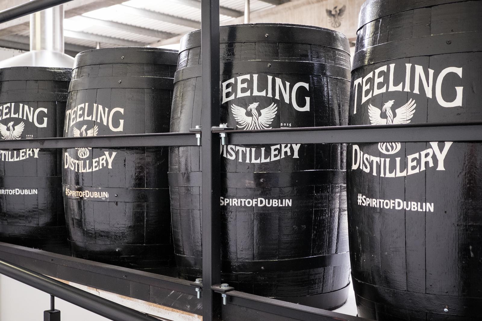 Teeling Whiskey tour.