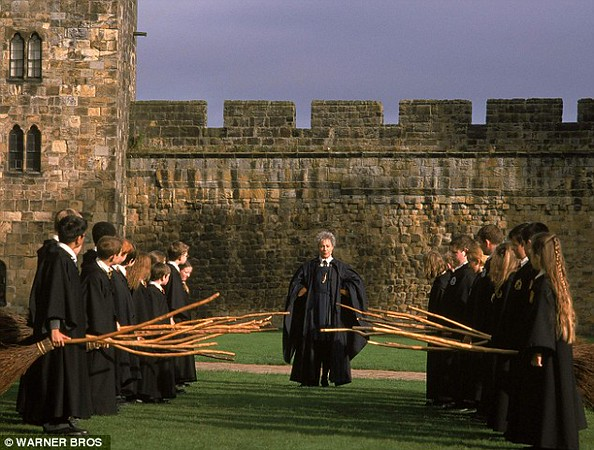 Alnwick Castle- Harry Potter scene