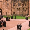 Harry Potter scene at Alnwick Castle