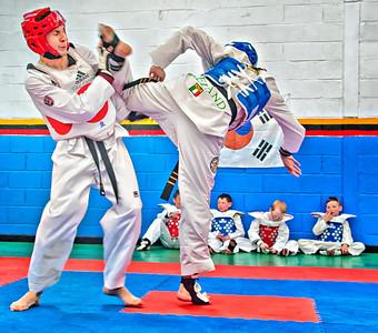 2012-06-30_Ireland_Belfast_Taekwondo_Sparring3815