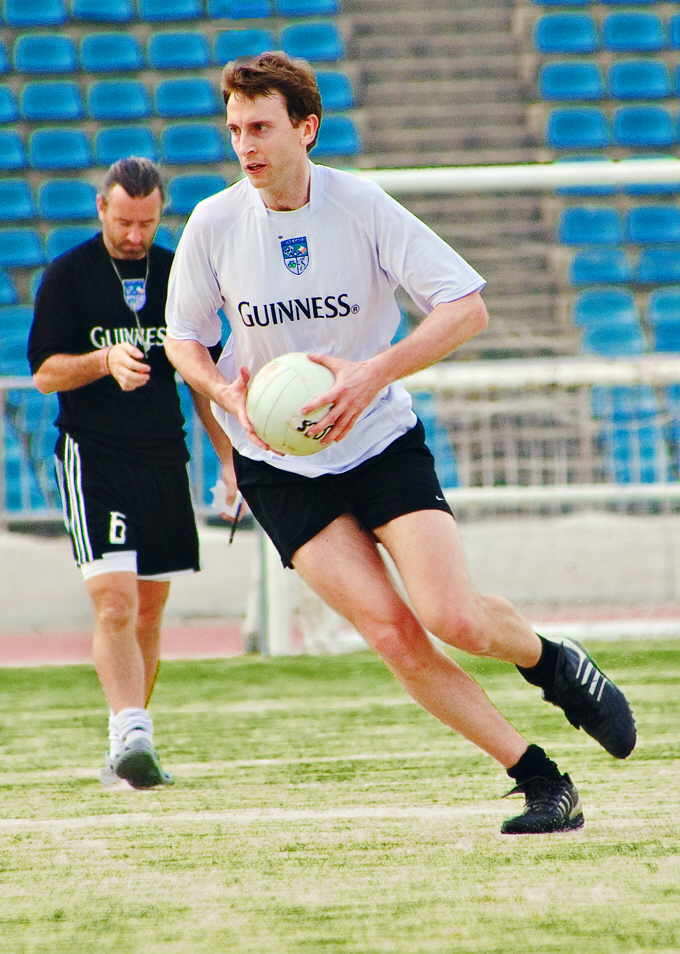 Seoul Gaels hosted the first Asian Gaelic Games at Hyochang Stadium, featuring teams from China.