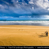 Europe - Ireland - Éire - Airlann - Airlan - County Waterford - Tramore - Seaside town on southeast Irish coast with its famous 5km golden, sandy beach surrounded by Atlantic Ocean