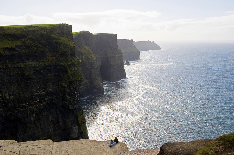 Cliffs of Moher, County Clare<br /> <br /> Fun fact: Ashes of hugely talented but lamentably under-appreciated Dusty Springfield were scattered here; not all, the remainder were interred at St Mary the Virgin Church on Hartt Street in Henley-on-Thames.