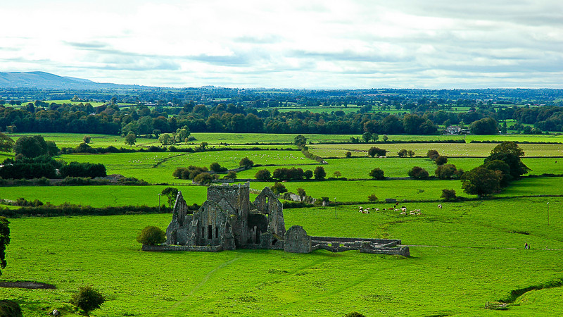 View from the Rock of Cashel, County Tipperary