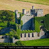 Europe - Ireland - Éire - Airlann - Airlan - County Galway - Connemara - Chonamara - Clifden castle - Ruined manor house built circa 1818 in the Gothic Revival style