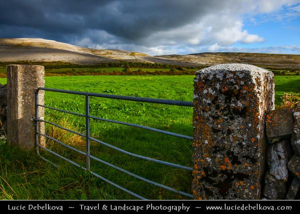 Europe - Ireland - Éire - Airlann - Airlan - County Clare - Bur