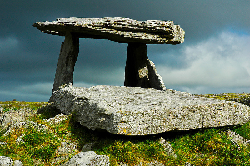 Cromlech, The Burren, County Clare