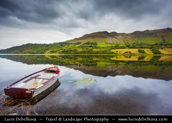 Europe - Ireland - Éire - Airlann - Airlan - County Leitrim - Glencar Lough Lake