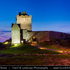 Europe - Ireland - Éire - Airlann - Airlan - County Galway - Kinvarra - Dunguaire Castle - Dún Guaire - 16th-century tower house on the southeastern shore of Galway Bay