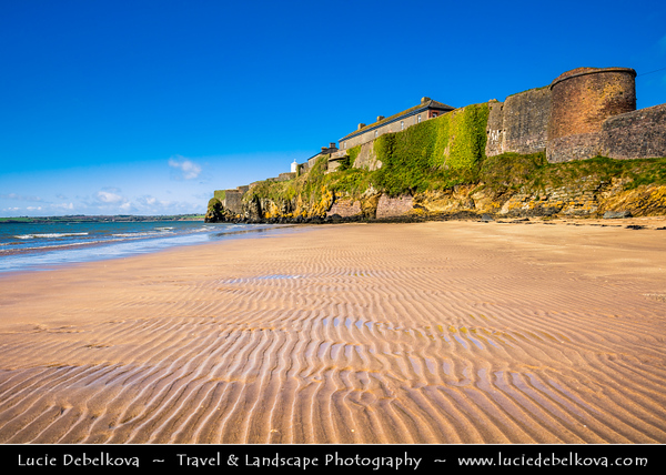 Europe - Ireland - Éire - Airlann - Airlan - County Wexford - Duncannon Fort - Historical star fort & National Monument located in strategic position on peninsula in eastern part of Waterford Harbour