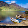 Europe - Ireland - Éire - Airlann - Airlan - County Galway - Connemara - Chonamara - Doo Lough Pass Area - Scenic mountain pass with well-known fishing lake