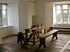Dining room, Craggaunouwen Castle; built by John MacSheeda MacNamara in the mid-16th century